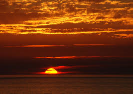 As the sun sets on one part of life, it simultaneously begins anew.